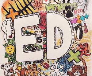 ed sheeran, ed, and drawing image