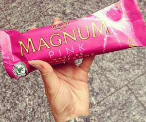 Magnum, pink, and yummy image