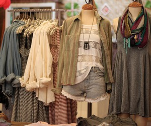 clothes and store image