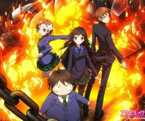 anime and accel world image