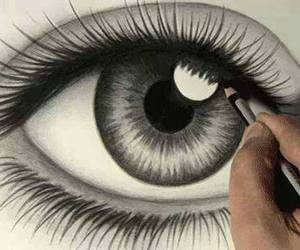 beautiful, pencil, and black and white image