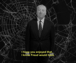 Hitchcock, freud, and movie image
