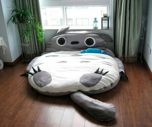 animals, bed, and relax image