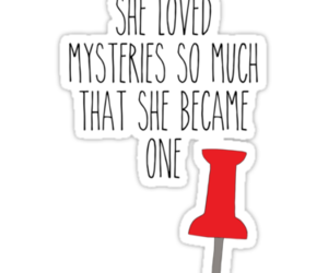 john green, mystery, and quote image