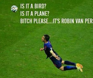 football, world cup, and van persie image