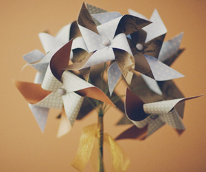 blue, Paper, and pinwheels image