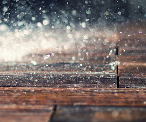 rain, photography, and water image