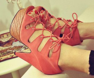 fashion, pumps, and cute image