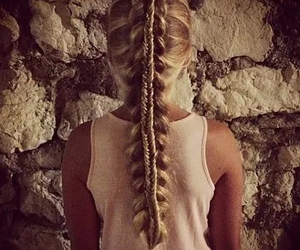 hairstyle and blond image