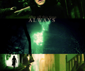 always, snape, and harry potter image