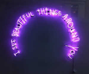 feelings, thing, and lights image