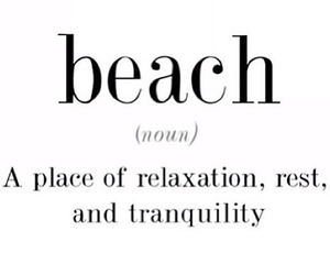 beach, summer, and quote image