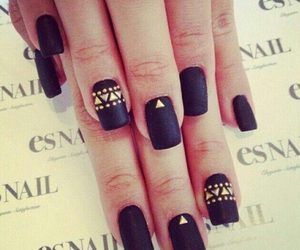 black, class, and nails image