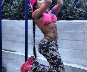 barbie, colombia, and fitness image