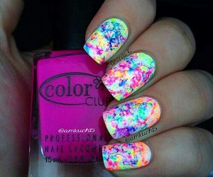 colours, nails, and totorial image