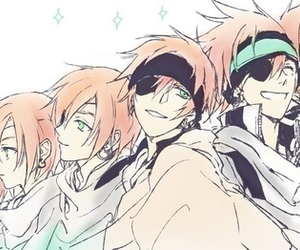 d gray man and lavi image