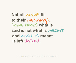 words, meaning, and quote image