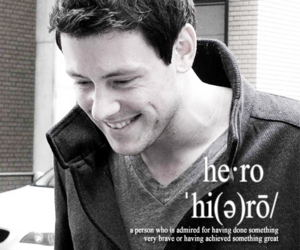 bw, glee, and quotes image