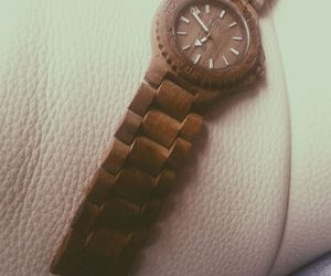 wewood, watch, and wood image