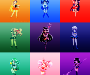 sailor moon and by ladydynamitez image