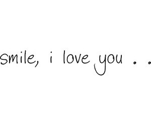 love, smile, and I Love You image