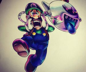 colores, dibujo, and mario bross image