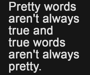 words, true, and quotes image