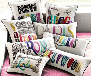 pillow, paris, and hollywood image