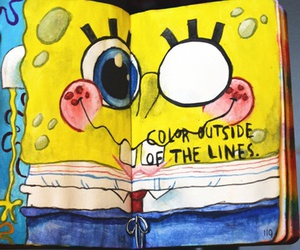 spongebob and wreck this journal image