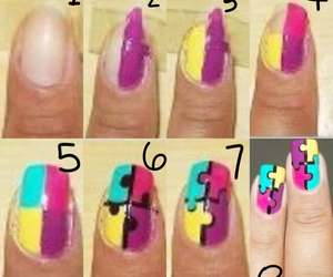 diy, nail, and nail art image