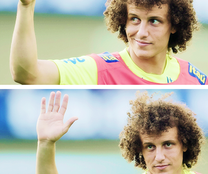 david luiz, brazil, and smile image