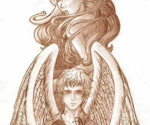 angel, fanart, and the mortal instruments image