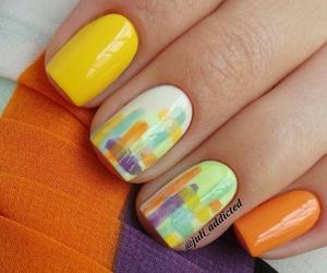 nail, nails, and маникюр image