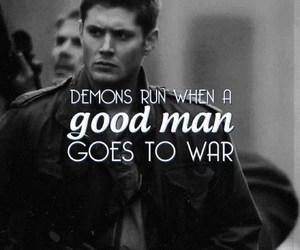 supernatural, dean winchester, and war image