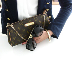 fashion, sunglasses, and Louis Vuitton image