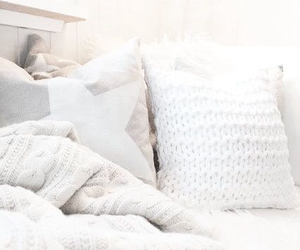bedroom, blankets, and cozy image