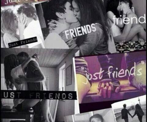 just, justfriends, and friends image