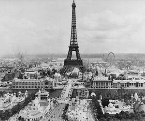 paris, france, and black and white image