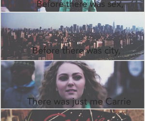 Carrie Bradshaw, new york city, and nyc image