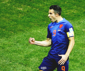 holland, world cup, and van persie image