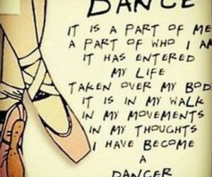 ballet, dance, and quote image