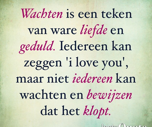 dutch, quote, and liefde image