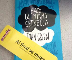 book, bajo la misma estrella, and tfios image