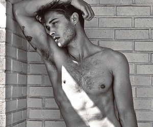 abs, black and white, and brazilian image