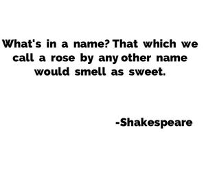 juliet, name, and romeo image