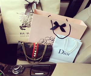 dior, Burberry, and shopping image