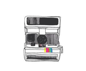 overlay, polaroid, and photography image