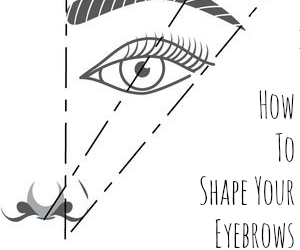 diy and eyebrows image