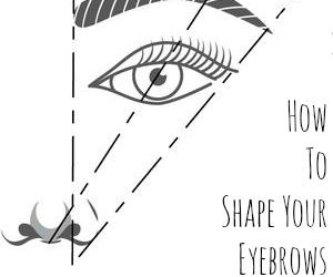diy and eyebrows image