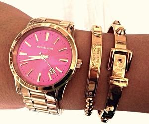 bracelet, clock, and style image